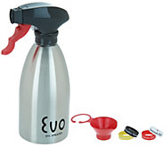 Evo 16-oz Kitchen & Grill Stainless Steel Non-Aerosol Oil Sprayer - K47101