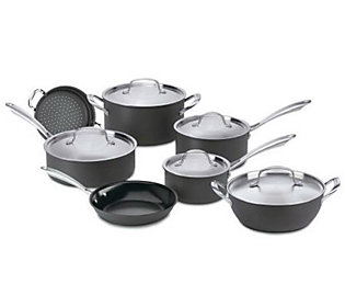 Cuisinart Green Gourmet Nonstick 12 Piece Cookware Set