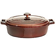 BergHOFF Neo 11 4.8-qt Cast-Iron Covered OvalCasserole - K300202