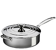 Le Creuset Stainless Steel 4.5-qt Saute Pan with Lid - K303602
