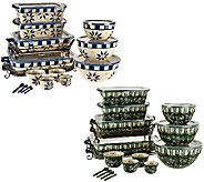 Temp-tations Old World or Floral Lace 20-piece Bakeware Set - K42702