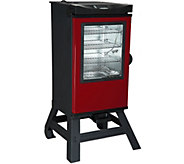Masterbuilt 30 4-Rack Digital Electric Smoker with Leg Kit, Cover & Gloves - K42802