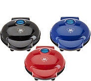 Yes Chef! Set of 3 Personal Griddles w/ Gift Boxes - K42902