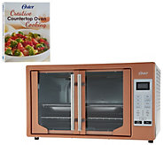 Oster XL Digital Convection Oven w/ French Doors & Recipe Book - K46602