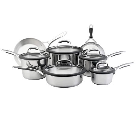 KitchenAid Gourmet Stainless Steel 12-pc Set