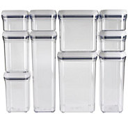 OXO Good Grips 10-Piece POP Container Set - White - K305003