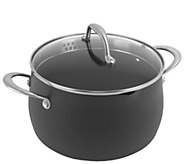 Oneida Hard-Anodized Aluminum 5-Qt Covered Dutch Oven - Gray - K305103