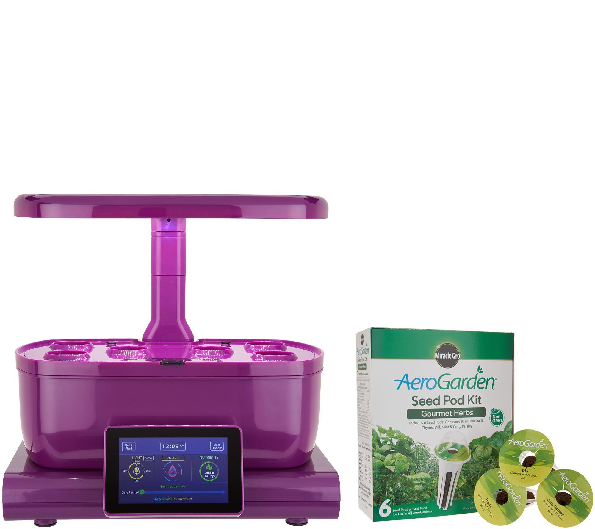 Miracle Gro Aerogarden Harvest Touch 6 Pod Garden   K46603