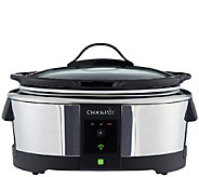 Crock-Pot 6-qt Smart Slow Cooker with WeMo - K304604