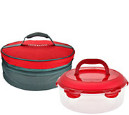 Lock & Lock Pie Carrier w/ Cooler Bag Case - K45404