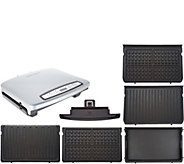 George Foreman 6 Serving Rapid Grill with 5 Nonstick Plates - K46604