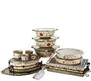 Temp-tations Old World 18-pc Bake and Serve Set - K41205