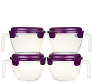 Lock & Lock 4-piece Vented Bowl Set - K44605