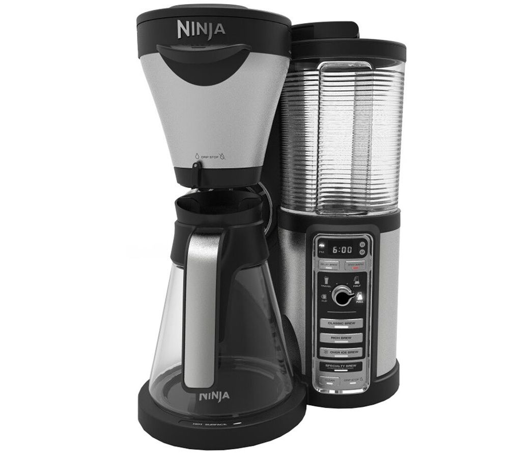 Nutri ninja blender system with auto iq technology - Ninja Coffee Bar Auto Iq Coffee Maker With Glass Carafe Page 1 Qvc Com