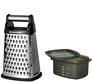 KitchenAid Gourmet Box Black Grater - K374907