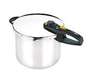 Fagor Duo 10 qt Stainless Steel Pressure Cooker/Canner - K133408