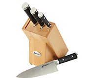 Anolon Cutlery 5-Piece Japanese Steel Knife Set - K303508