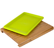 Casabella Chop N Prep Cutting Board with PrepTray - K304608