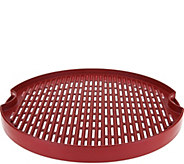 CooksEssentials 15 Reversible Cast Aluminum BBQ Grill Pan - K44208