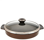 Maker Homeware Round Ceramic Steam Grill Pan - K44308