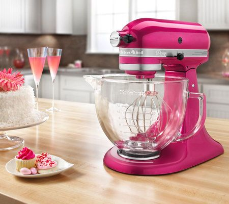 kitchenaid artisan design collection 5qt 325 watt stand mixer page 1 u2014 qvccom - Artisan Kitchenaid Mixer