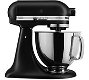 KitchenAid 5-Quart Tilt-Head Stand Mixer - Matte Black - K375409