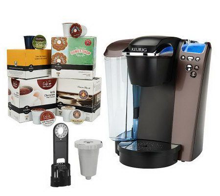 Keurig Platinum Plus Coffee Maker W 64 K Cups Filter