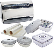 Foodsaver V3860 Automatic 2-speed Vacuum Sealer with Accessory Kit - K42709