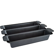 Tri-Lasagna 4 piece Easy-Lift Pan by Chef Tony - K44509