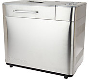 Breadman 2-lb Multi-Function Stainless Steel Bread Maker - K44909