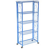 Cooks Essentials 5-Tier Deluxe Folding Storage Rack - K46509