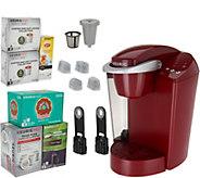 Keurig K55 Coffee Maker w/ My K-Cup, 31 K-Cup Pods & 10 Rinse Pods - K46609