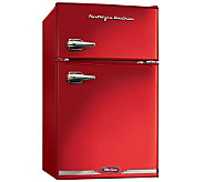 Nostalgia Electrics Retro Series Refrigerator/Freezer - Red - K301010
