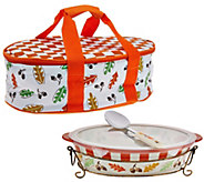 Temp-tations Old World 3qt. Pack nGo Baker with Accessories - K42710