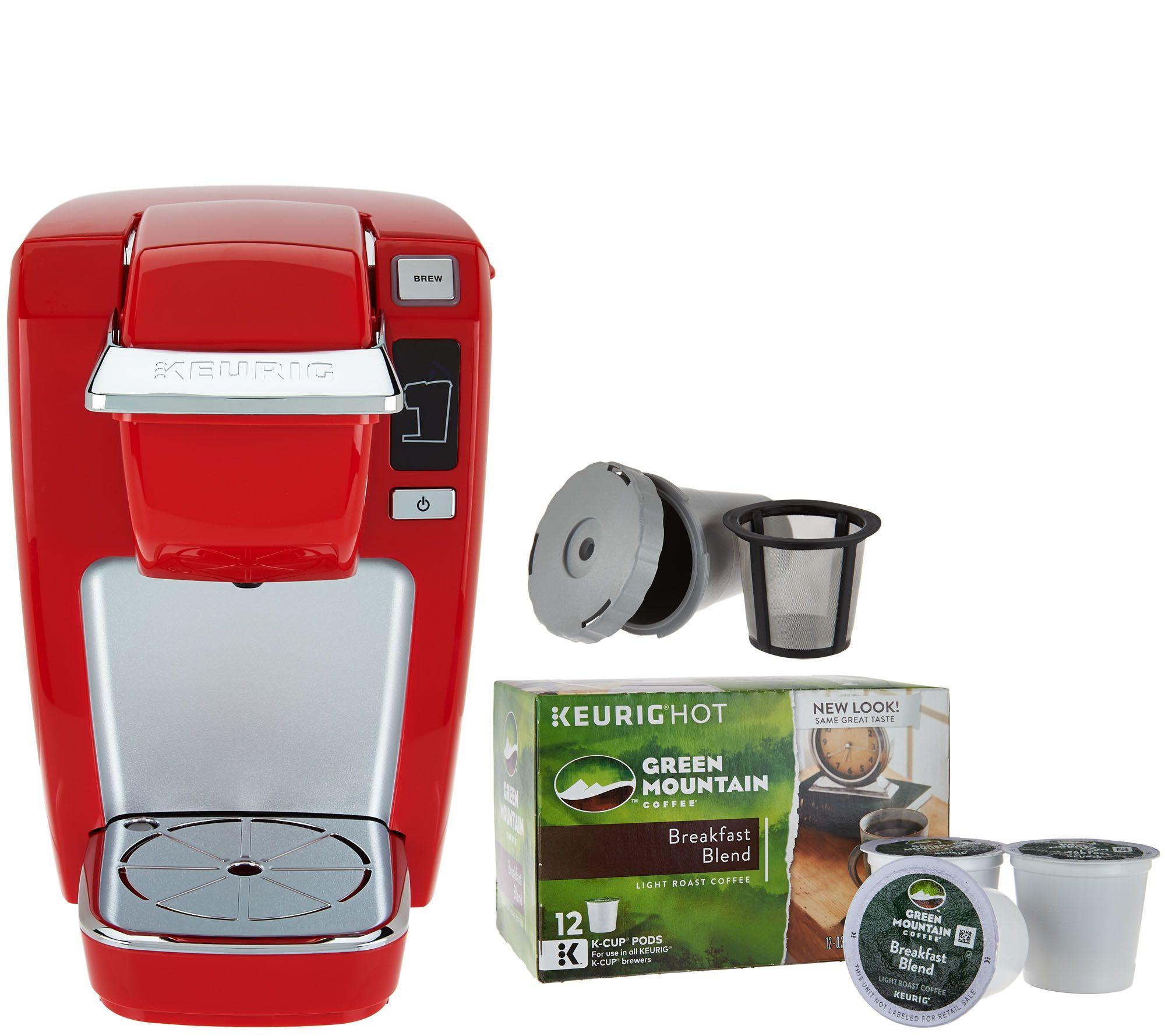 Keurig K15 Personal Coffee Maker w My KCup 12 KCups Page 1