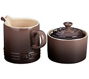 Le Creuset 8-oz Cream and Sugar Set - K300911