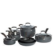 Epicurious Hard Anodized 11-Piece Cookware Set - K305611