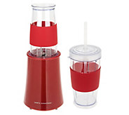 As Is Cooks Essentials 200 Watt Smoothie Maker w/ Tumblers - K307611