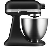 KitchenAid Mini 3.5-Quart Tilt-Head Stand Mixer- Matte Black - K375411