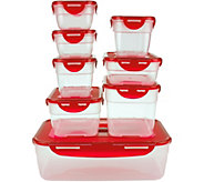 Lock & Lock 8-piece Nestable Set with 9x13 Container - K44611