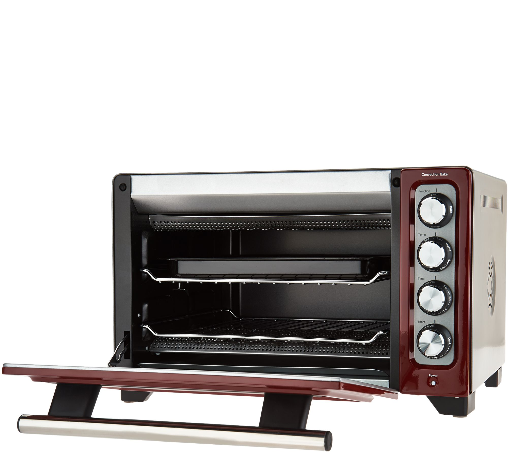 shipping retro free convection over toaster today slice stainless steel oven series home nostalgia overstock product garden