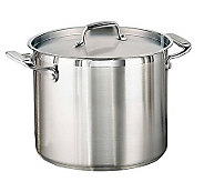 Tramontina 12-qt Pro. Covered Stock Pot with Stinless Lid - K121312