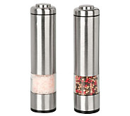 Kalorik Salt and Pepper Grinder Set - Brushed Stainless Steel - K129912