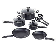 T-Fal A801SA64 Comfort Grip 10-Piece Cookware Set