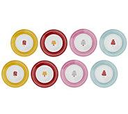 Cake Boss Set of 8 Porcelain Dessert Plates - K39912