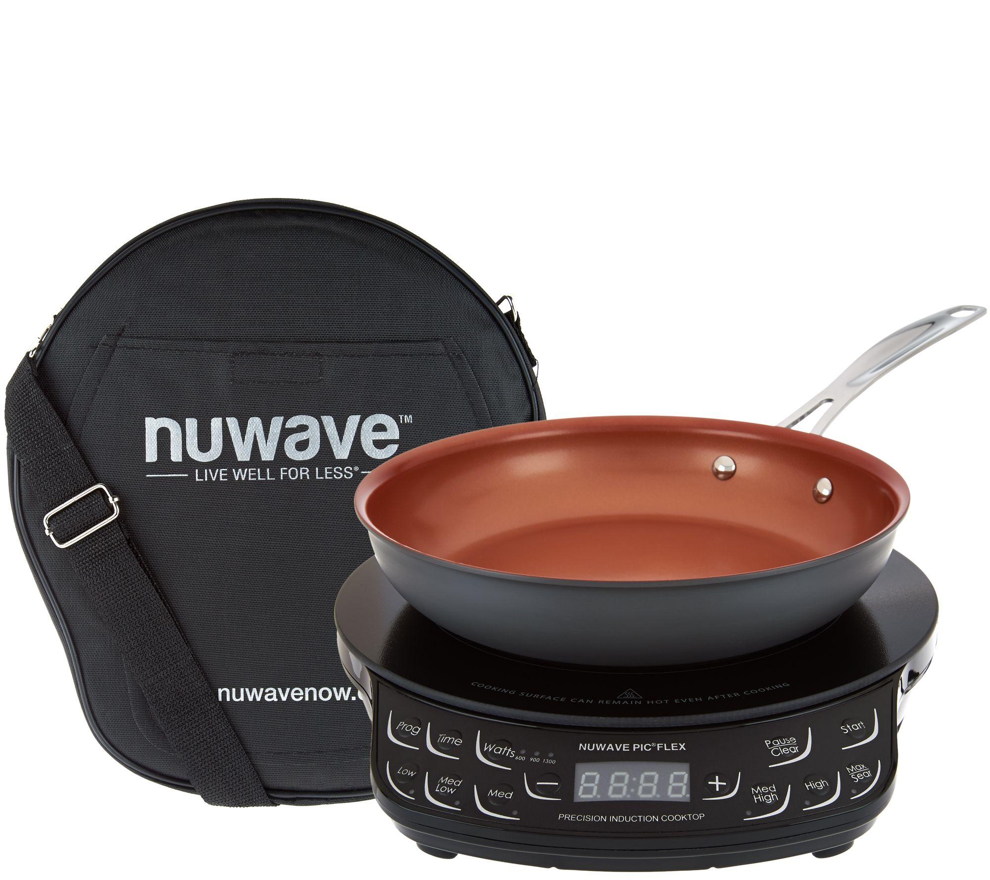 Nuwave Precision Induction Cooktop Flex w 9 Pan Bag Page 1