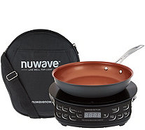 "Nuwave Precision Induction Cooktop Flex w/ 9"" Pan & Bag - K45012"