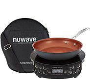 Nuwave Precision Induction Cooktop Flex w/ 9 Pan & Bag - K45012