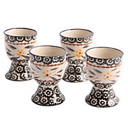 Temp-tations Set of 4 Old World Egg Cups - K304013