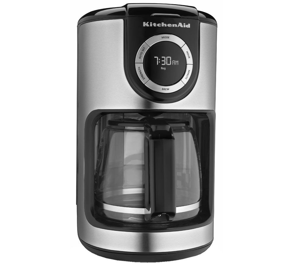 Glass Coffee Makers kitchenaid 12-cup glass carafe coffee maker - page 1 — qvc